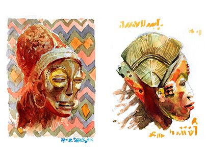 """Check out new work on my @Behance portfolio: """"Tribal"""" http://be.net/gallery/52637279/Tribal"""