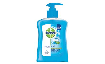 Get a Dettol Soap 75g free with Dettol handwash cool pump 250 ml. Valid at all super markets.