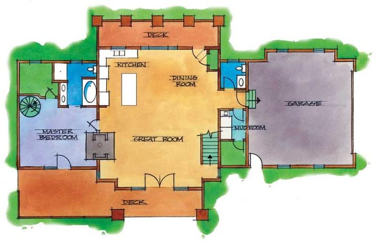 1st floorLog Homes, Idaho Logs, Valley Logs, Energy Efficiency Logs, Loghomes Com, Logs Home