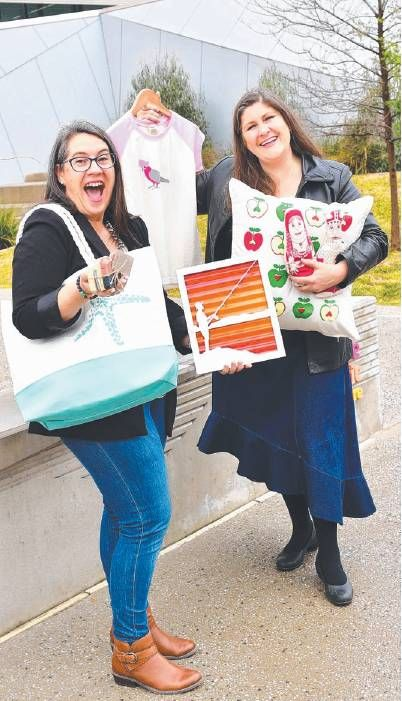 Susie-Lotta Designs and Urban Lifestyle.  Messenger newspaper in Adelaide