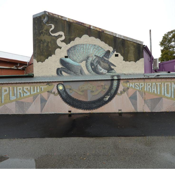 Drew Straker AKA Mastermind Murals