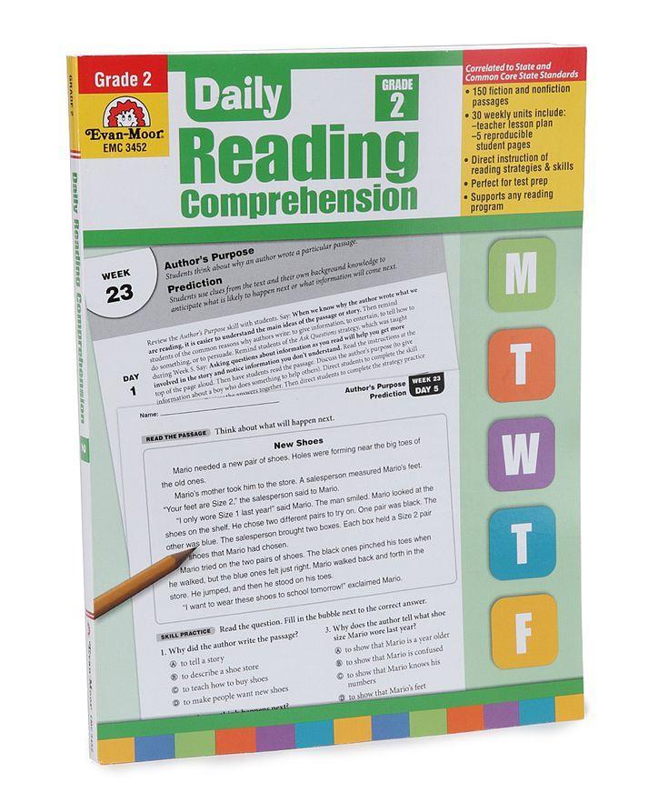 evan moor daily reading comprehension grade 2 pdf