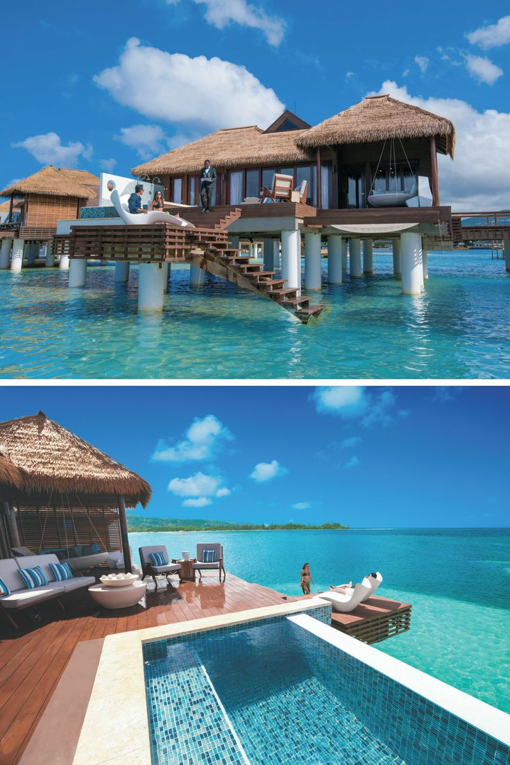 Over the water Villas at Sandals Royal Caribbean | All-inclusive Honeymoon | Jamaica Honeymoons | Sandals Resorts Weddings | Sandals Resorts Honeymoons