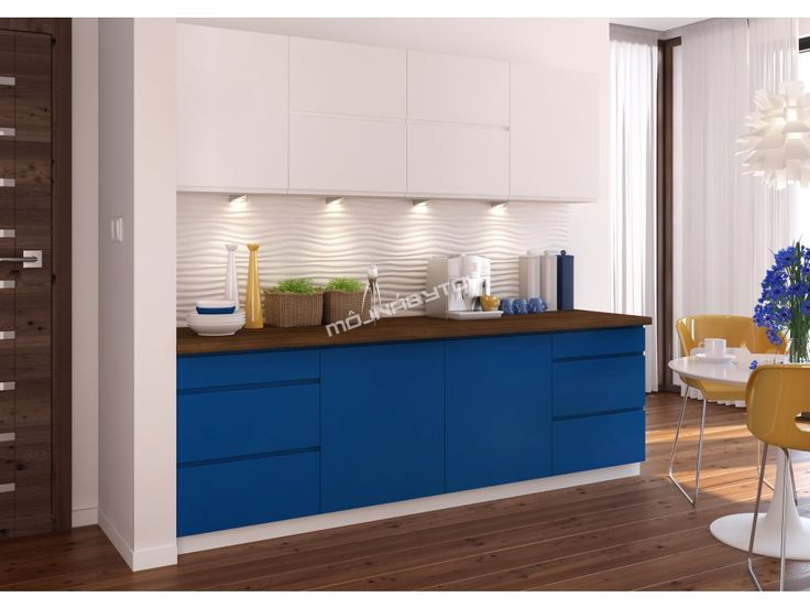 Originálna kuchynská linka NINA ponúka široký výber farebného prevedenia skriniek či pracovnej dosky.