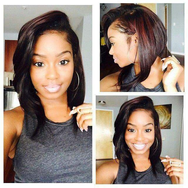 Hairstyles For Black Permed Hair Medium Length : 1173 best haircuts images on pinterest