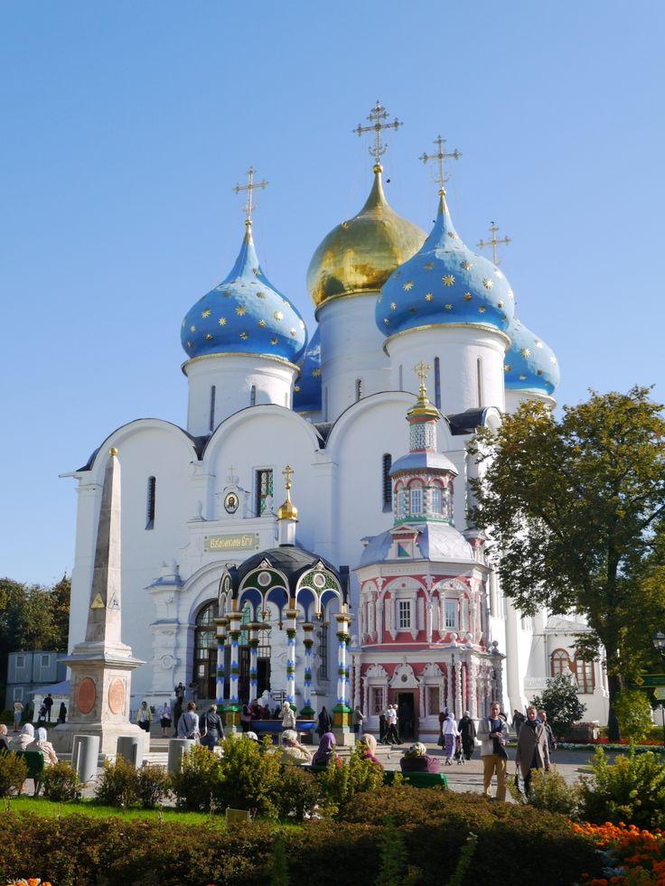 モスクワから列車旅★黄金の環セルギエフ・ポサードへ』 [その他の観光 ... 前から「黄金の環」の街へ行ってみたいと<br