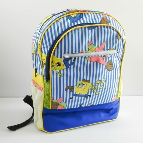 Adventure Time Backpack   Andrie Designs   Paper and PDF bag patterns  Handmade bag