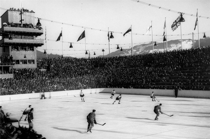 In excitment for tomorrow's Olympic semifinal game: 1936 Berlin Olympics, Canada vs USA