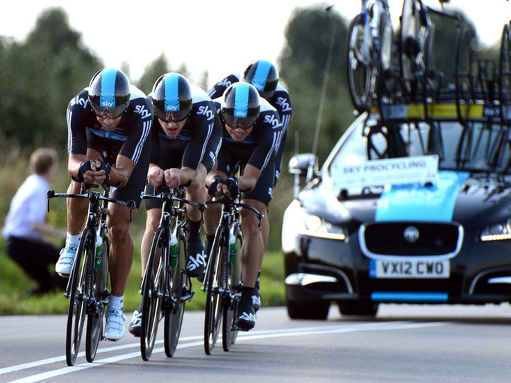 Team Sky   Pro Cycling   Photo Gallery   Worlds TTT gallery