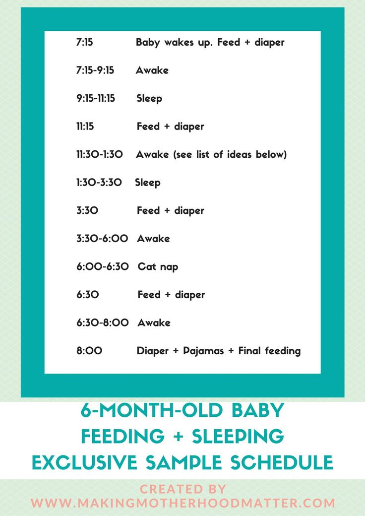 Babies change so fast as infants. It can be challenging to keep up with the schedule and routine changes. Every month brings new milestones, schedule changes, feeding times, and nap times. I am sharing this 6-month-old baby feeding + sleeping sample schedule for parents. This is a great resource to compare or foresee what your baby might be doing at five or six-months-old.
