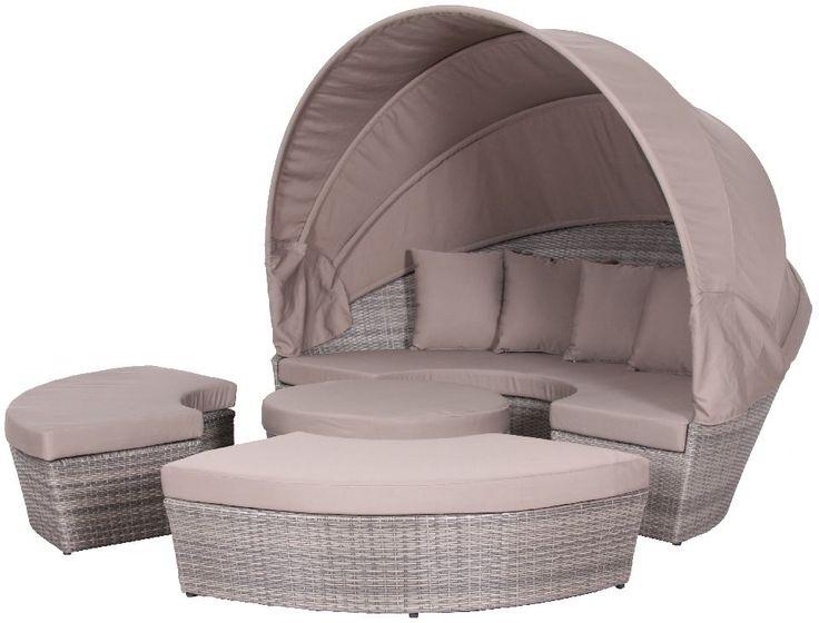 Droomeiland - Loungeeiland heerlijk relaxen in je tuin met deze aantrekkelijk geprijsde loungegroep van Bukatchi