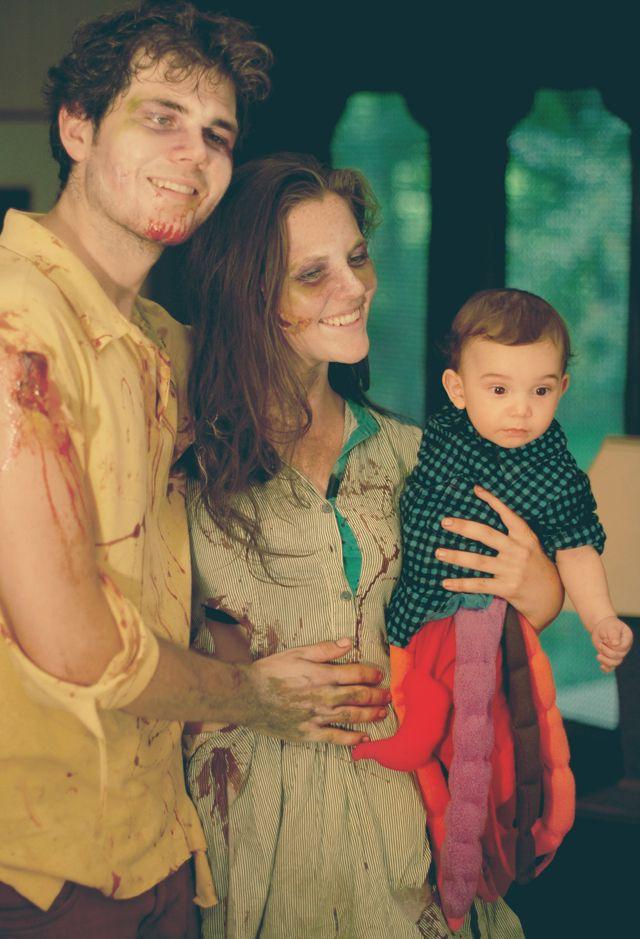 Torso-Only Zombie Baby Halloween Costume