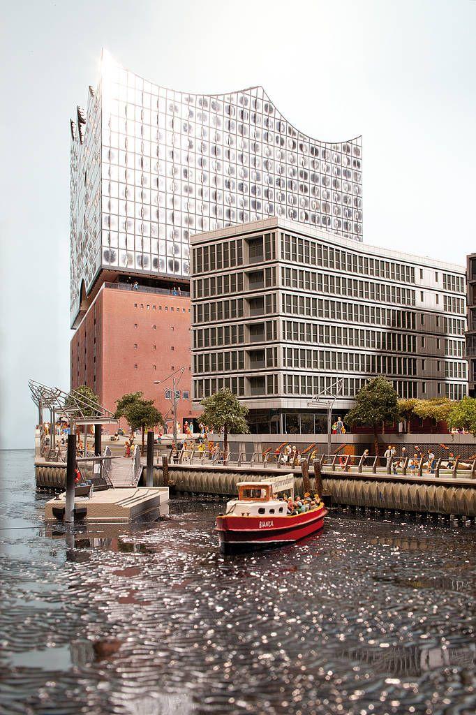 Elbphilharmonie Hamburg im Miniatur Wunderland Hamburg