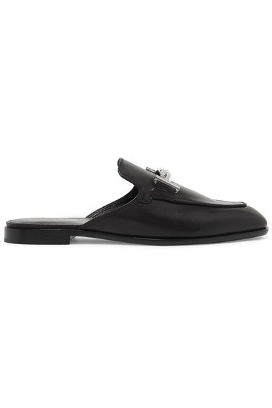TOD'S Leather slippers. #tods #shoes #flats