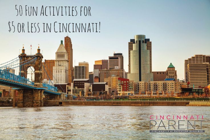 Looking for something fun to do this spring? Try one of these 50 activities around #Cincy