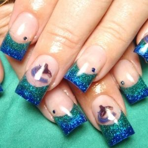 19 best vancouver canucks tattoos and nails images on pinterest super simple spring nail art ideas prinsesfo Image collections