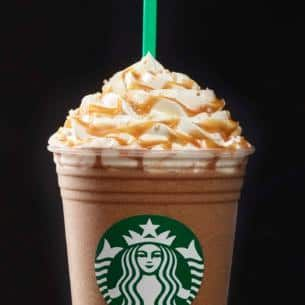 Salted Caramel Mocha Frappuccino® Blended Beverage | Starbucks Coffee Company