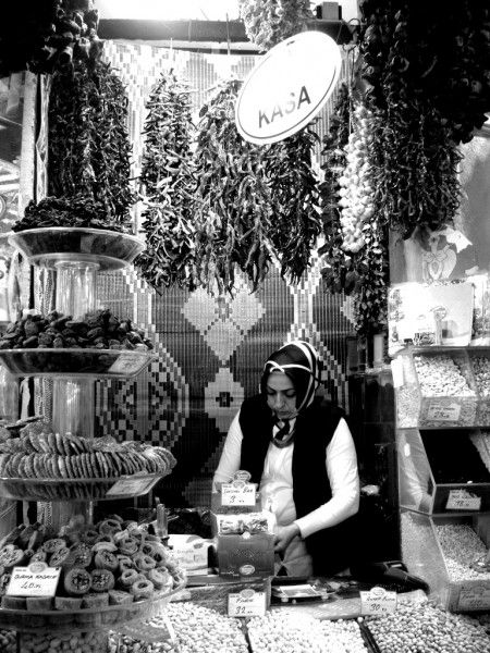 Istanbul - Spice Bazaar. A place a food lover can call home.