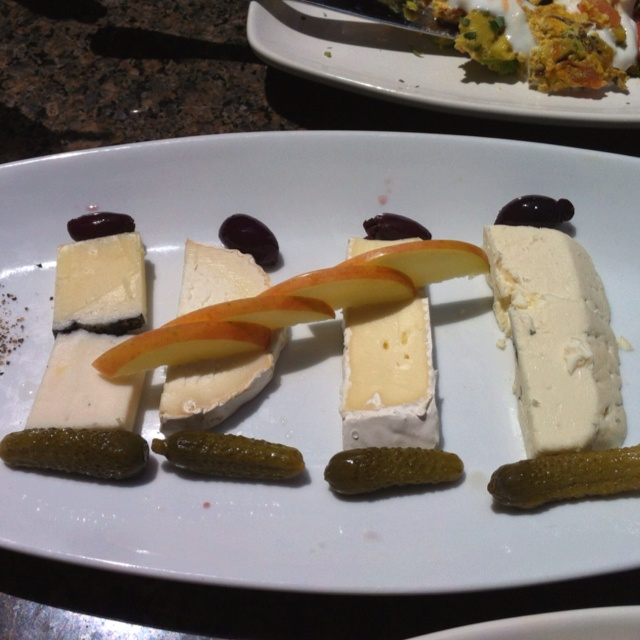 Delectable cheese platter in Los Angeles.