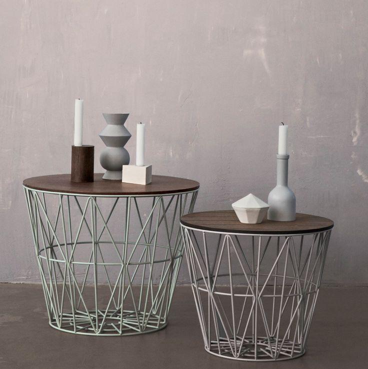 ferm living wire basket. Black Bedroom Furniture Sets. Home Design Ideas