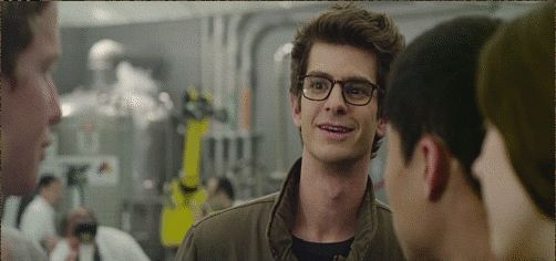 Andrew Garfield in the new Spiderman, yes