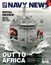201411 Navy News Nov 14 - Royal Marines 350th birthday special; report on Joint Aircraft Recovery and Transportation Sqn