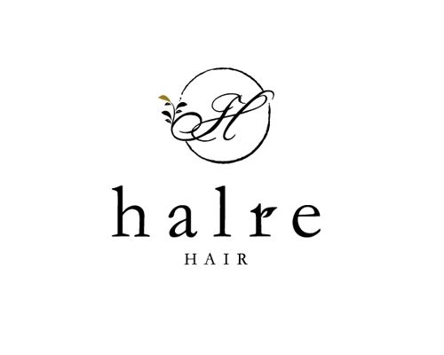 halre_Logo | Beauty salon graphic design ideas | Follow us on www.facebook.com/... | 美容室 デザイン ロゴ