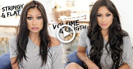 THIN TO THICK HAIR | HOW TO APPLY & STYLE EXTENSIONS ON THIN HAIR! – #APPLY #Ext…