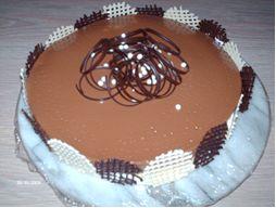 Chocolade bavarois