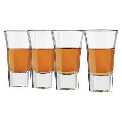 libbey shot glasses set of 4 - Libbey Glassware