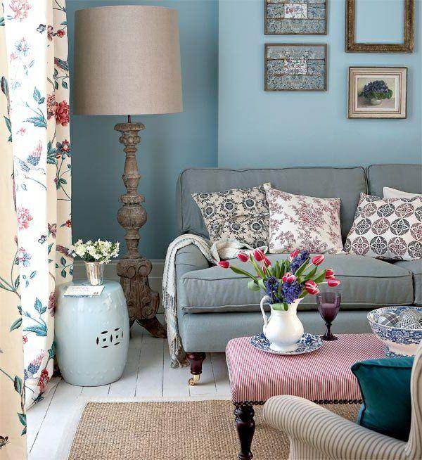 25+ best ideas about landhaus sofa on pinterest | couchtisch ... - Wohnzimmer Deko Landhaus