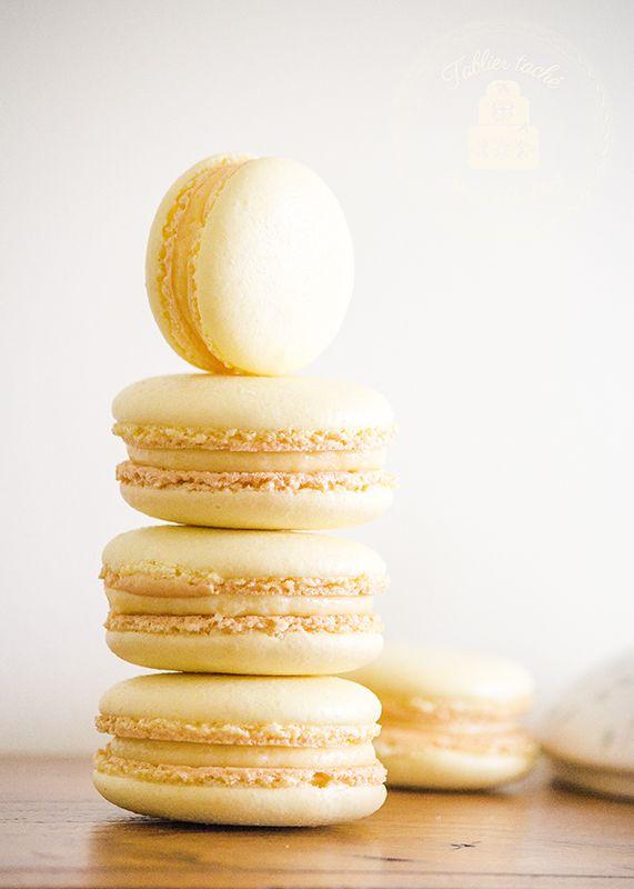 Lemon-Basil MacaronsTablier Taché