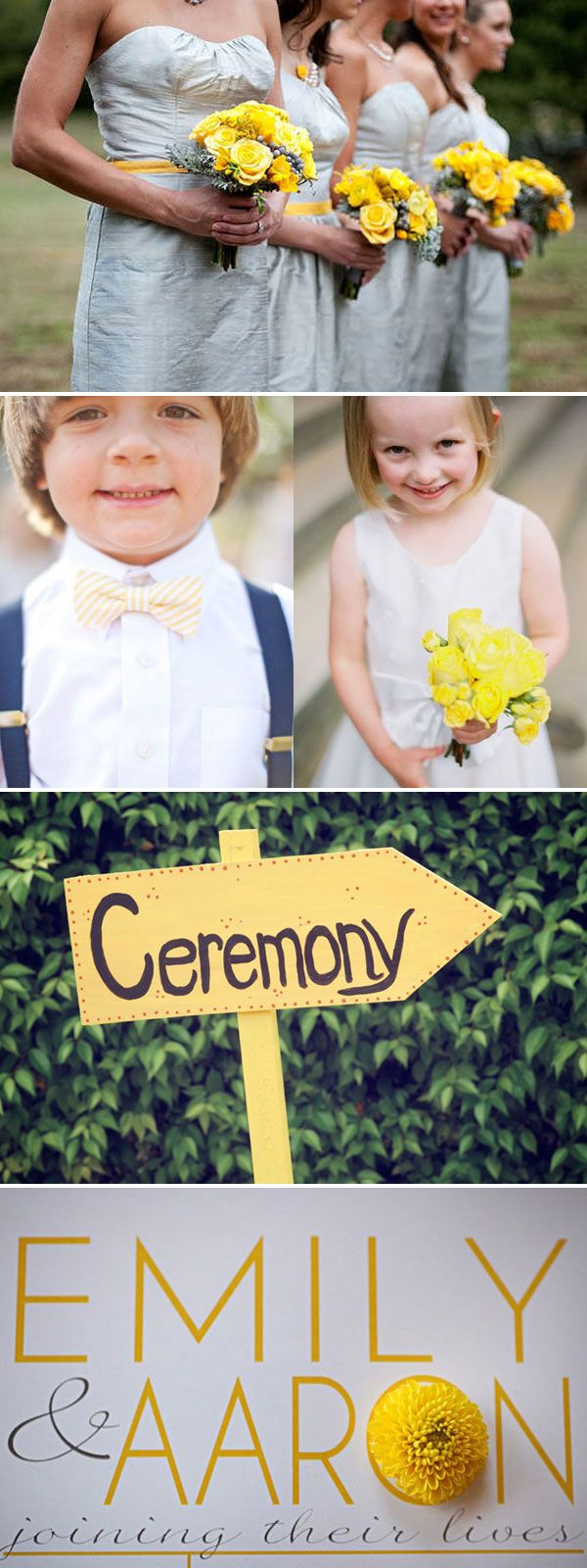 Yellow wedding inspiration: Yellow Weddings, Bows Ties, Bow Ties, Colors Theme, Colors Schemes, Bride, Definitions Wear, Yellow Colors Wedding Theme, Colors Ideas