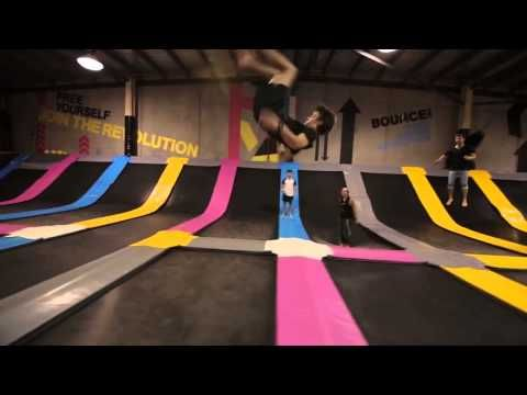 Free jumping arena | BOUNCEinc