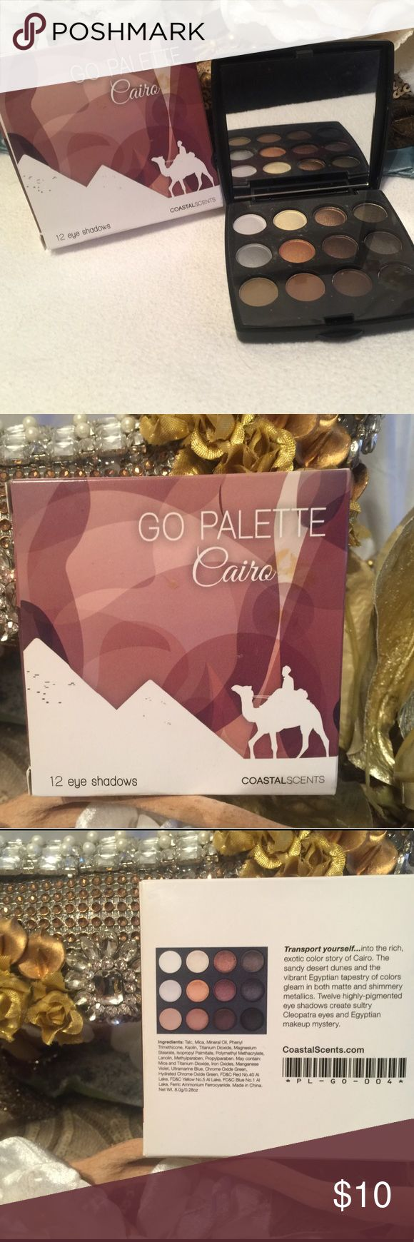 Coastal Scents Eyeshadow Palette FREE with any $25 purchase. Just let me know you want it. The $25 does NOT include shipping fees. Coastal Scents Makeup Eyeshadow