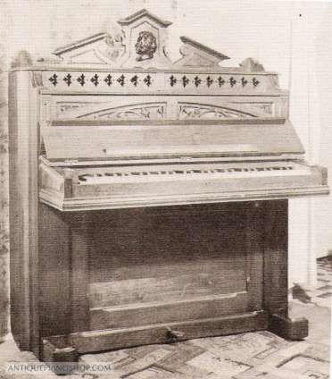 Perfect Model Piano Simpson u Company The Antique Piano Shop