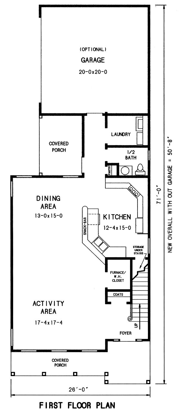 17 best colonial style images on pinterest cottage for Narrow lot craftsman house plans