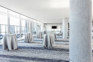 W Dallas - Victory: This modern wedding venue offers unique views of the Dallas skyline and glamorous, contemporary decor for events with 20 guests to 400 guests.