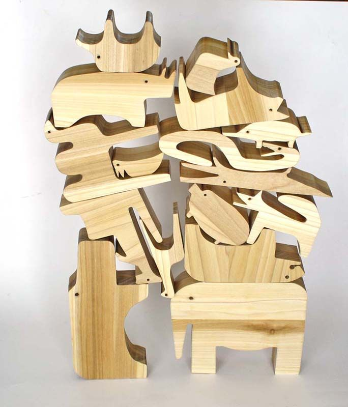 Running With Scissors: Enzo Mari Knock Off Animal Puzzle: Mom Feature  @William Garrison scroll saw action!!!