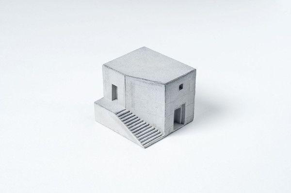 Miniature Concrete Home #3   Price : €31 Euro