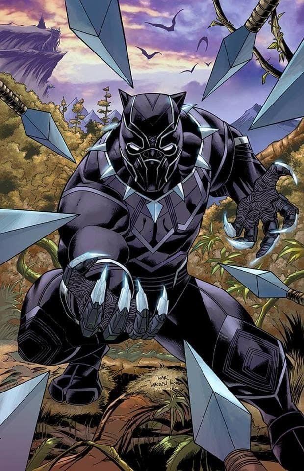 Black Panther In 2020 Comic Art Marvel Comics Art Black Panther