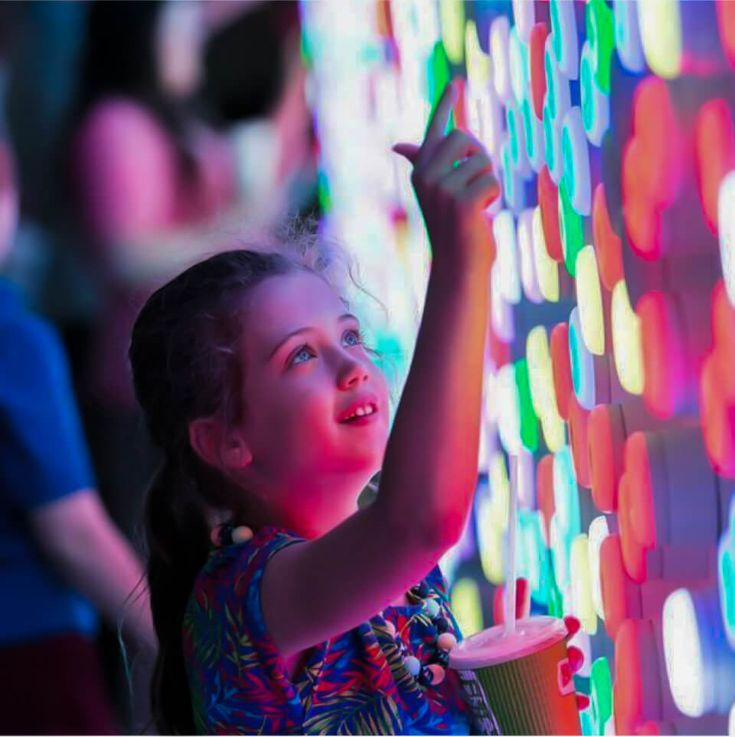 Canberra Centre Light Touch Wall