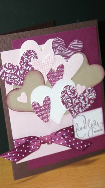 Razzleberry Love by createsfromscraps - Cards and Paper Crafts at Splitcoaststampers