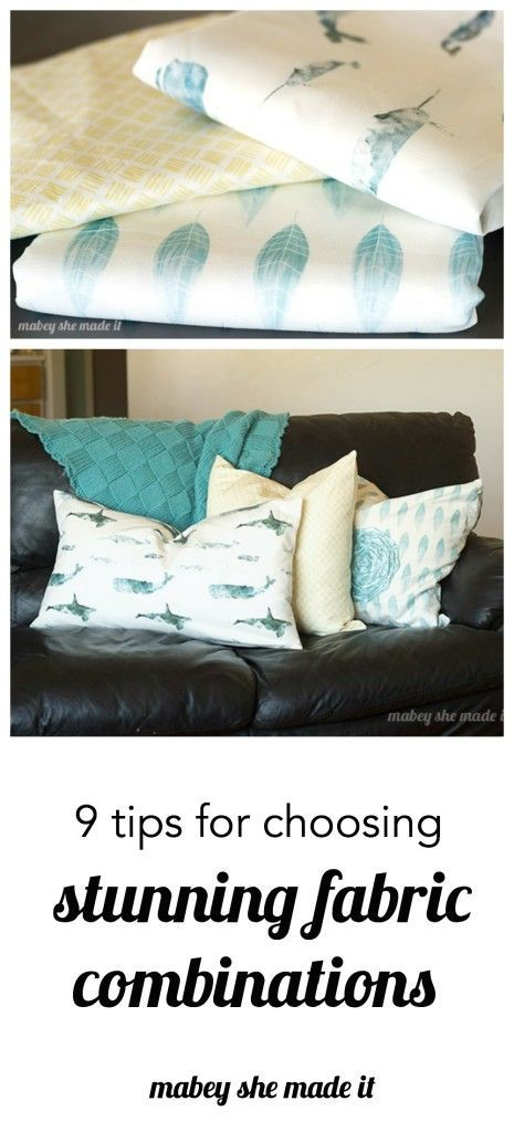 Simple and practical Tips for Choosing Fabric Combinations for your home or any…
