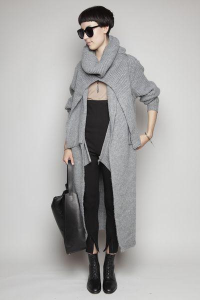 3.1 Phillip Lim - Long Coat Cardigan
