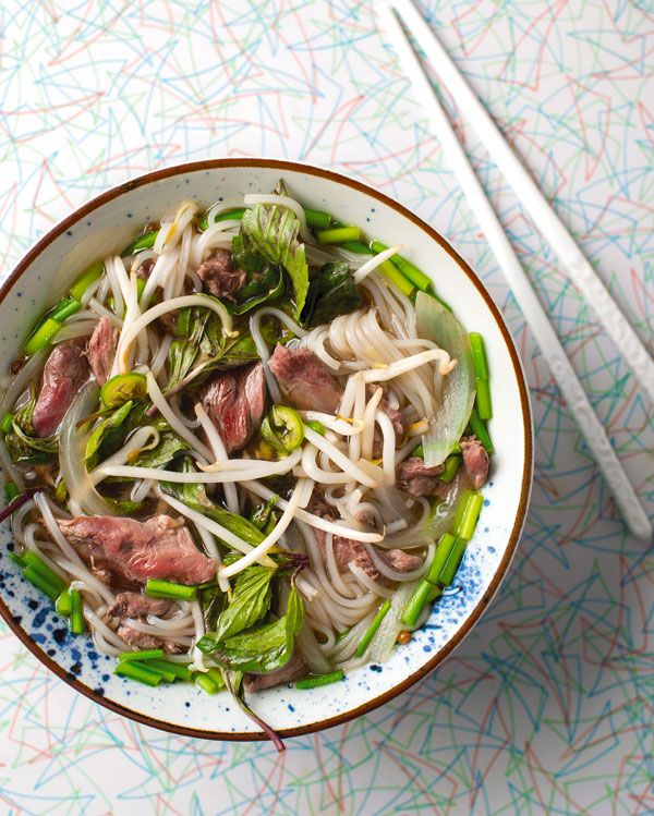 A recipe for duck pho, a Vietnamese duck and noodle soup. You can make this soup recipe with domestic or wild ducks or geese.