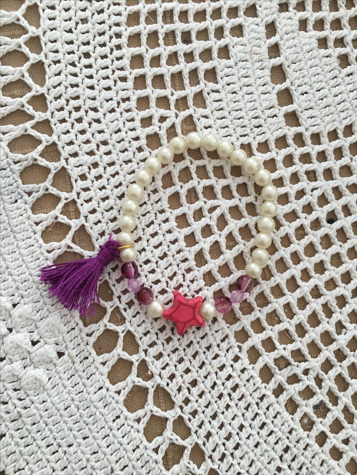 Azl Design 2017 Summer Collection / Pink Star Bracelet 20$