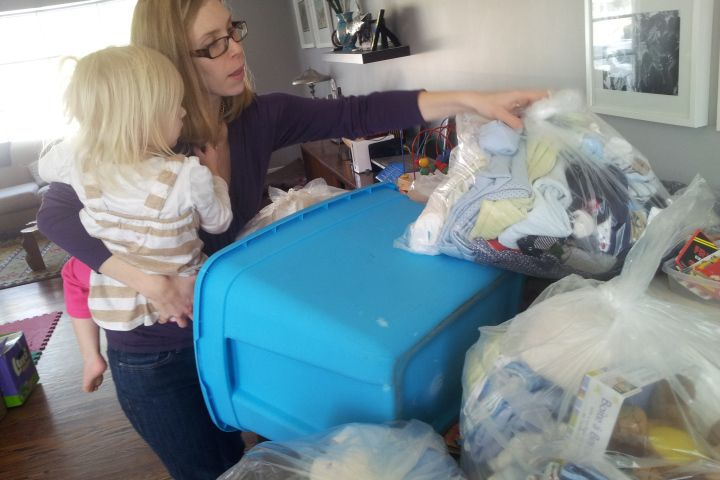 A baby in need is a priority indeed.  That's precisely what busy mom of three Gwen Broda thought when she founded The New Mom Project.