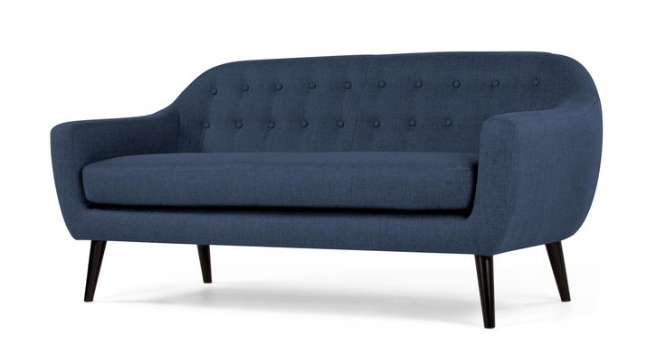 Ritchie, canapé 3 places, bleu cobalt 649 e