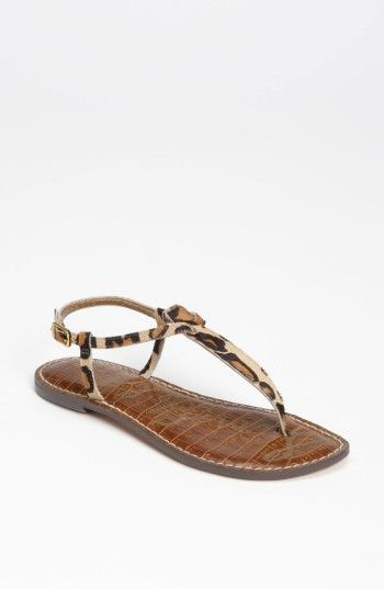 941e0808376777 Free shipping and returns on Sam Edelman Gigi Genuine Calf Hair Sandal ( Women) at Nordstrom.com. Variegated texturing puts a subtly exotic spin on  a ...